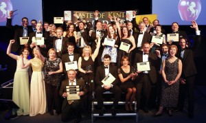 Taste of Kent Award 2014 winners looking suitably pleased