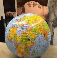 Windsor's  visitor globe