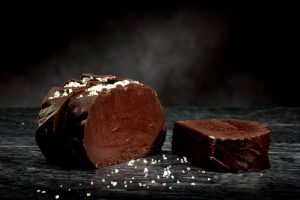 The legendary Dark Chocolate Sea Salt Fudge