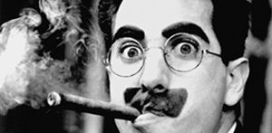 """I intend to live forever or die trying"" Groucho Marx"