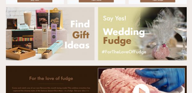 Fudge Kitchen unveils a new website and invites you to Build-a-Box …